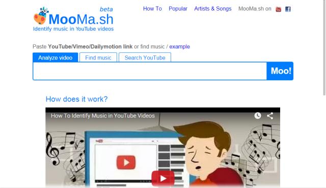 Музыка из видео YouTube